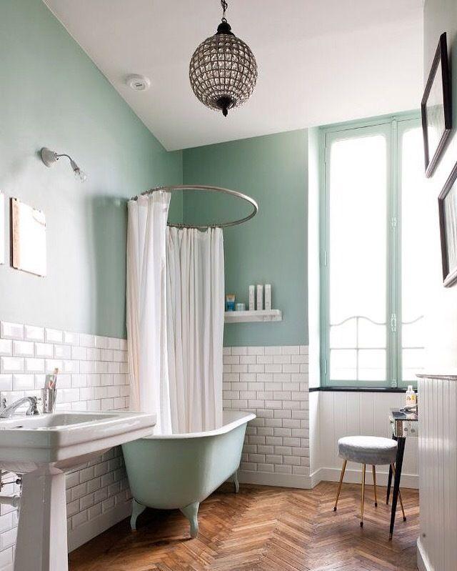 seafoam bathroom dreams