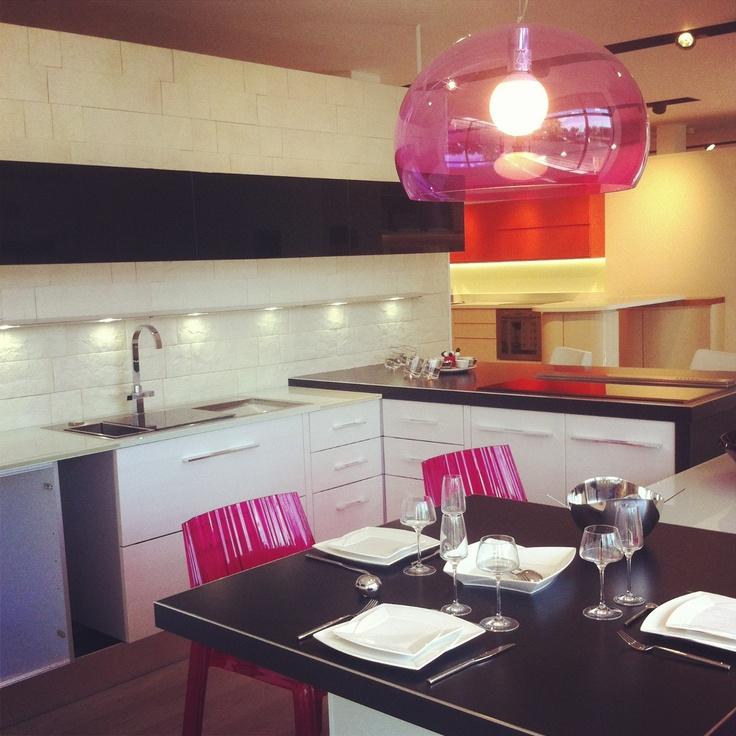 Aran cucine & Kartell Lights