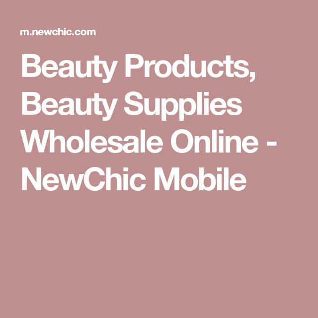Beauty Products, Beauty Supplies Wholesale Online - NewChic Mobile #BeautySupplies