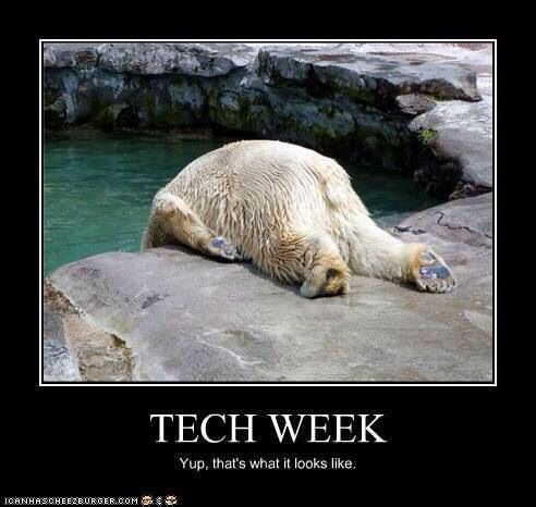 Image result for tech week meme