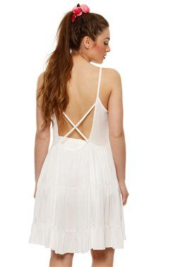 Backless Skater Φόρεμα - ΡΟΥΧΑ -> Φορέματα | Made of Grace