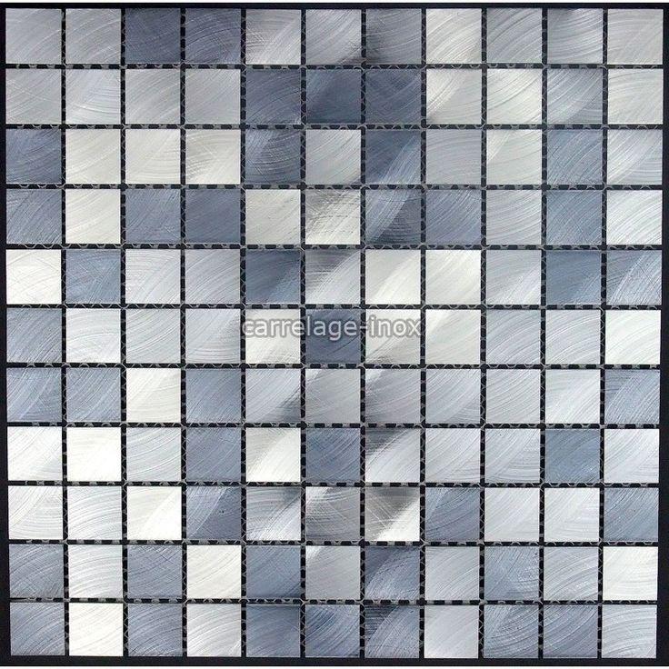 35 best mosaique en aluminium images on pinterest | mosaic, gray