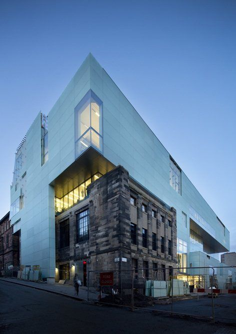 REID BUILDING, Glasgow, 2014 - Steven Holl Architects