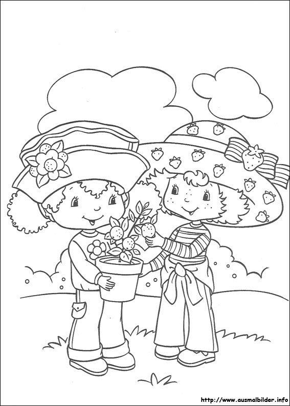 123 best sarah kay  u0026 charlotte aux fraises a colorier