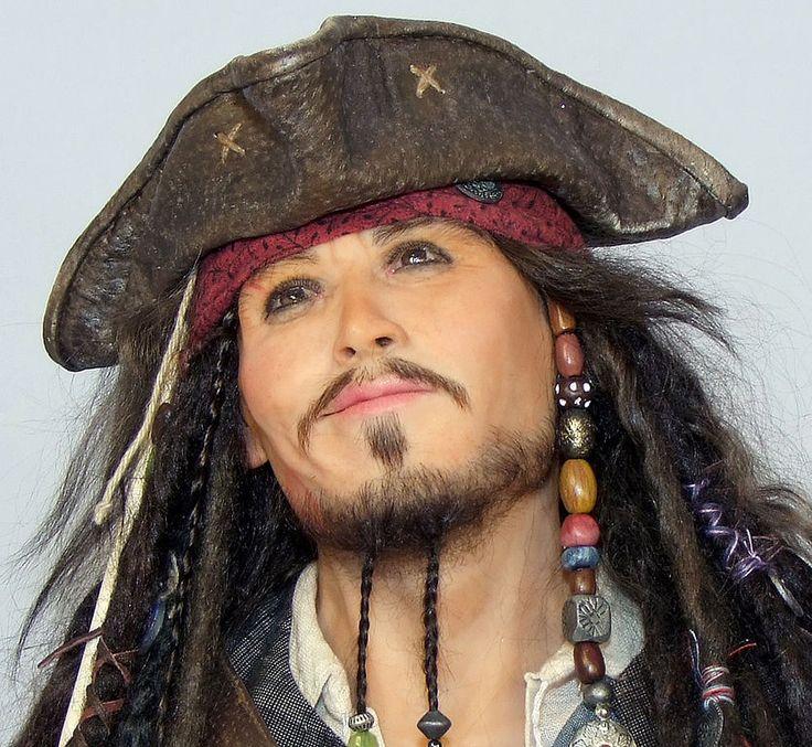 Портретная кукла. Капитан Джек-Воробей (Captain Jack Sparrow)