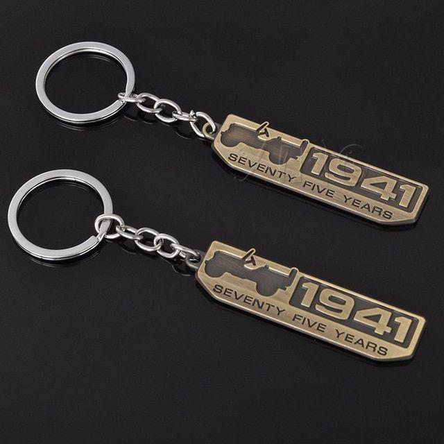 Car Keychain Keyring Key Ring Key Holder For Jeep Wrangler Grand
