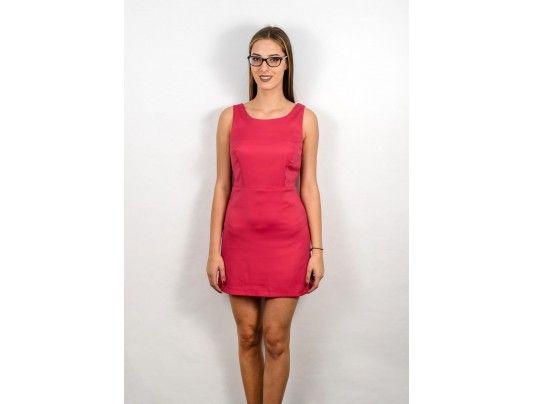 Rochie roz fara maneci - 39 lei