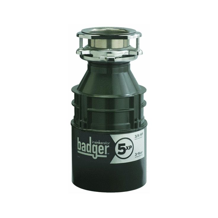 The InSinkErator Badger 5XP Garbage Disposer is a variant of the iconic InSinkErator Badger 5, a product that has made a lot of people very happy over the decades. It is in many ways a more heavy-duty version of the Badger 5, and it has a lot of features that has consumers very excited indeed. In this review, you will read all about the features of this product as well as the various benefits that using this product would provide.  Features  The Badger 5XP has ¾ horsepower in its induction…