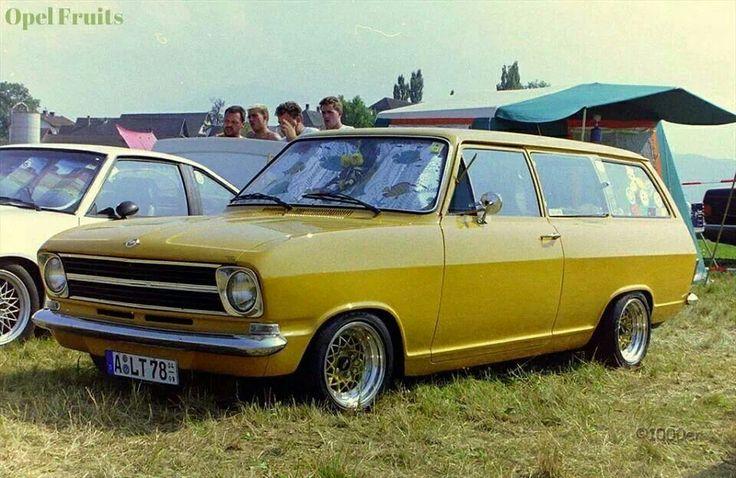 Opel kadett b caravan nice traumautos pinterest for Garage opel nice