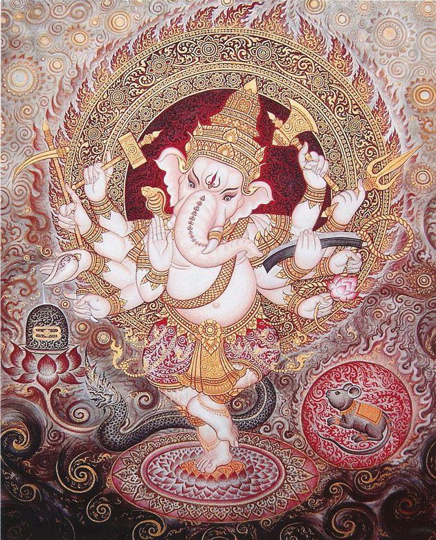 Lord Ganesha by Varit-85