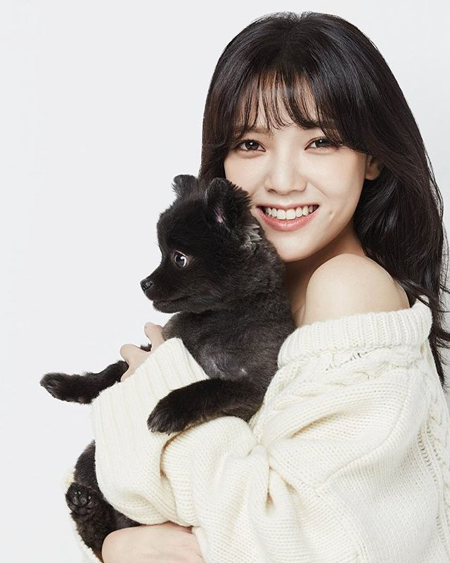 [STARCAST] LIFE AND DOGUE shooting #AOA Jimin