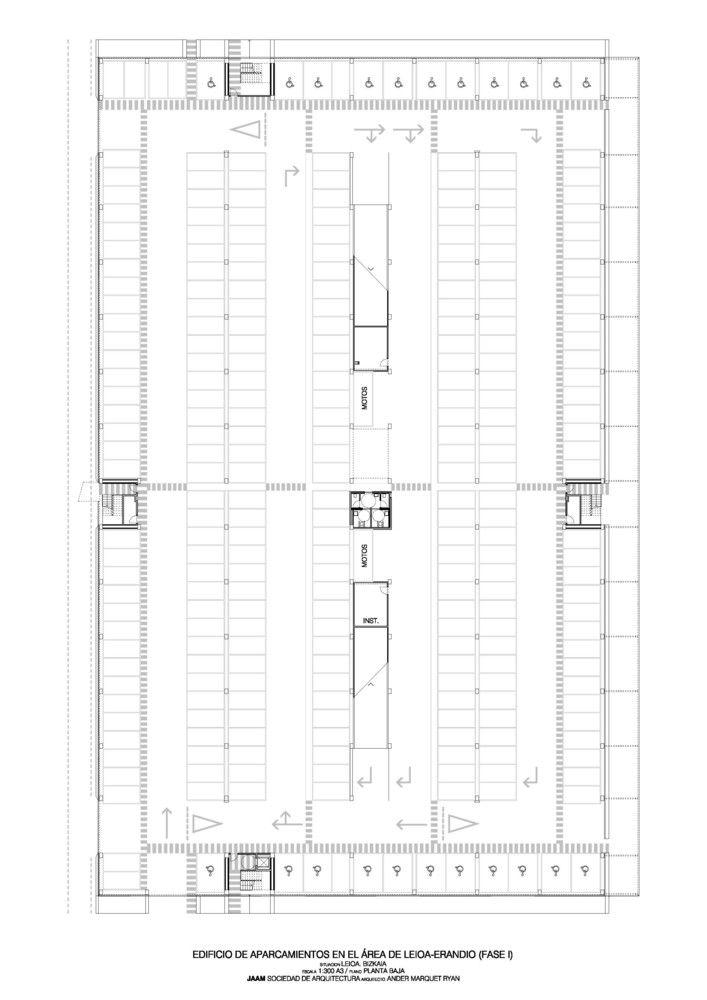 Galería de Edificio de Aparcamientos / JAAM sociedad de arquitectura - 15