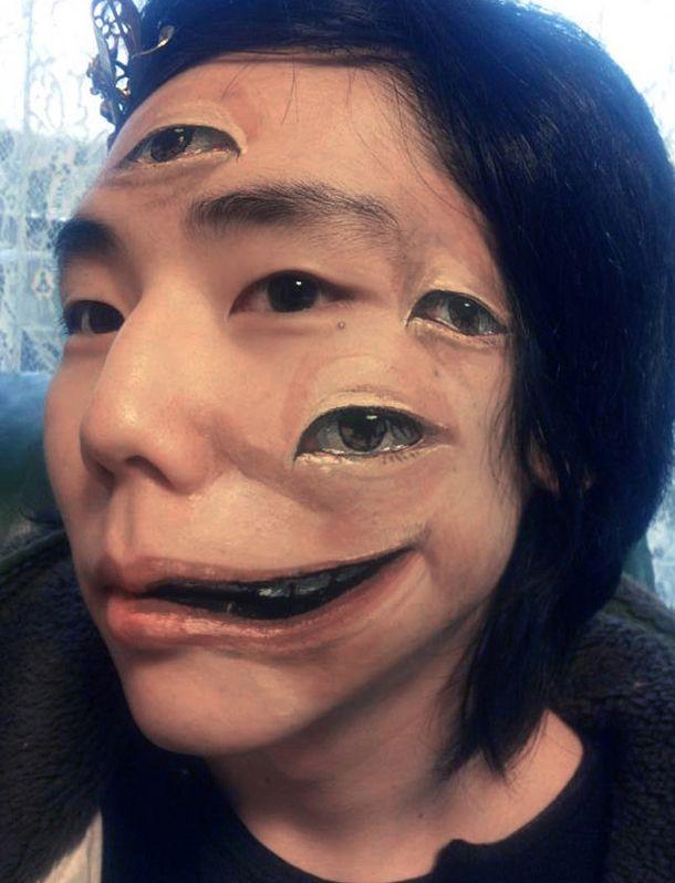 Multiple Eyes-3d Tattoo