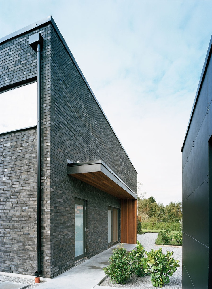 The black house by Gert Wingårdh in Falsterbo, Sweden