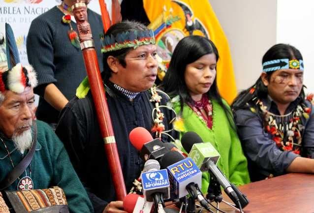 Pueblo indígena reclama al Estado medidas de reparación por explotación de recursos naturales