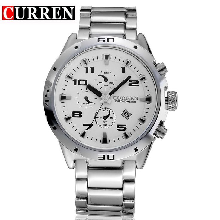 CURREN Watches FashionCasual Full Sports Watches Relogio Masculino Business relojes Quartz watch8021
