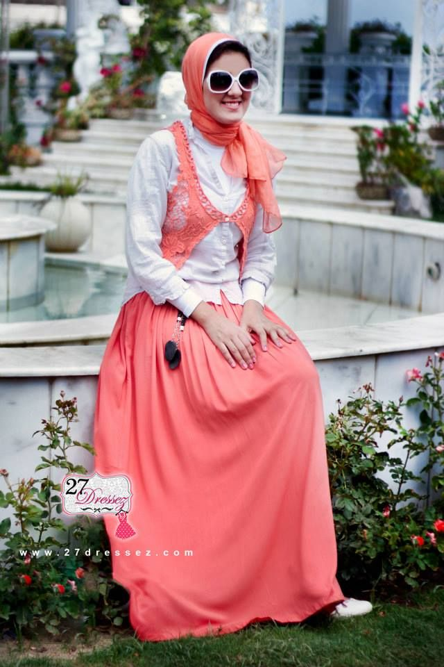 pastel maxi skirt  Hijab casual outfits by 27dressesz http://www.justtrendygirls.com/hijab-casual-outfits-by-27dressesz/