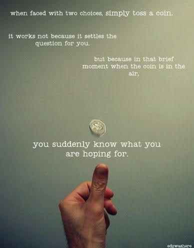 .: Thoughts, It Work, Itwork, Grey Anatomy, Coins, Deci Make, Truths, So True, Favorite Quotes