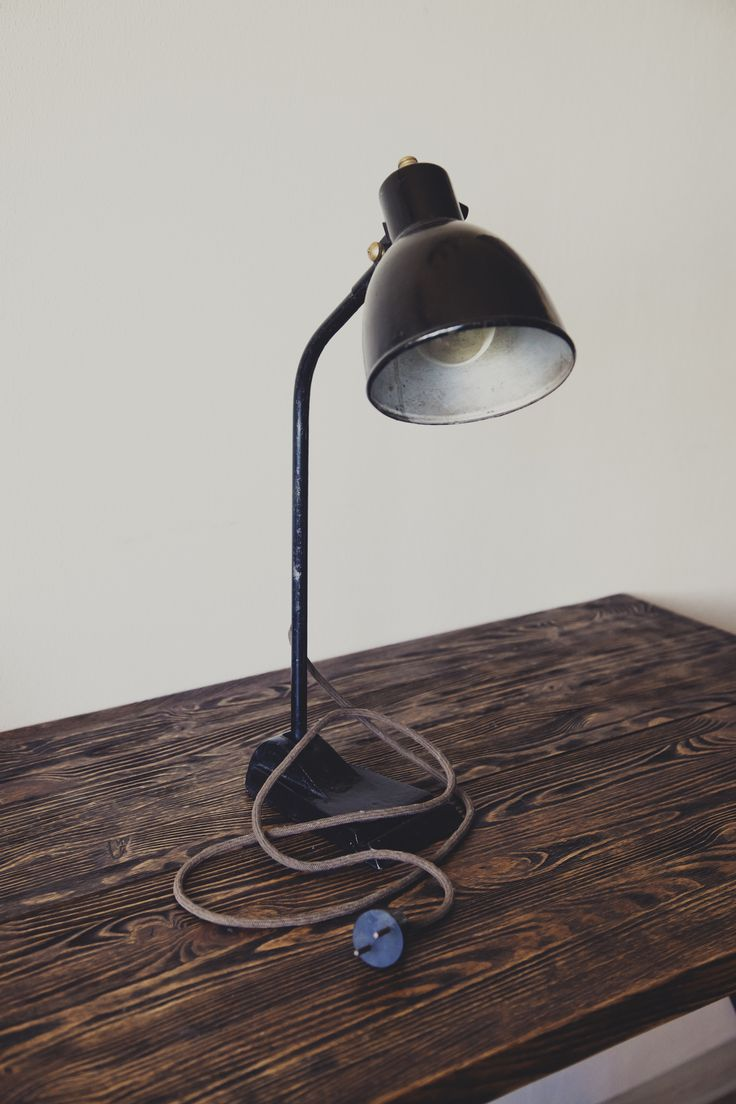 Old desk lamp by SteelRabbit