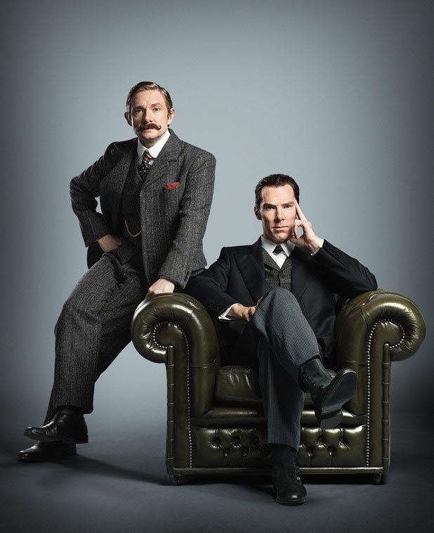 Sherlock à l'époque victorienne, la preuve avec Benedict Cumberbatch et Martin…