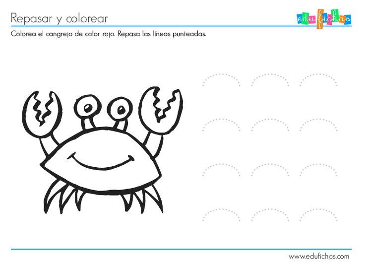 25 best Actividades para 2 y 3 años images on Pinterest | Coloring ...