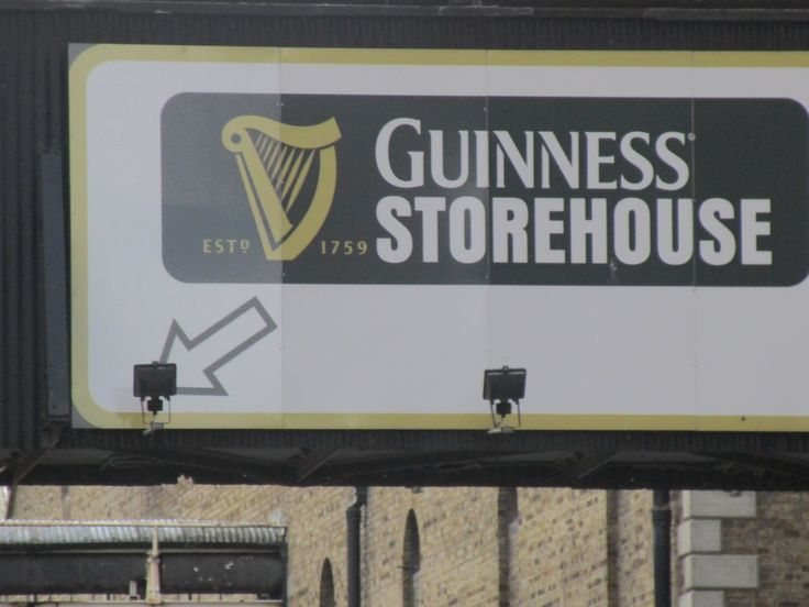 2-1/2 hours of scenic driving took our honeymooners from Limerick to Dublin where they toured the world famous Guinness Storehouse