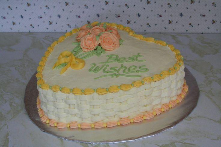 Bridal Shower cake I made for Rina, July 2010.