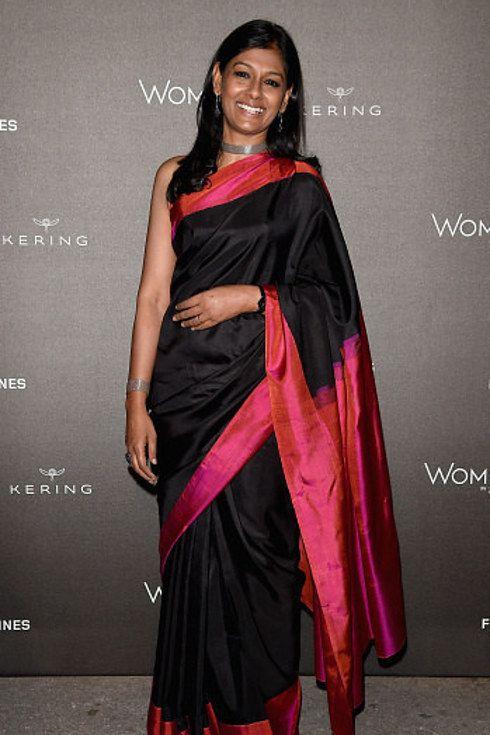 Silk Saree/sari. Nandita Das.