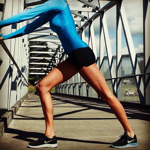 toned legs, jogging, - daily work will provide results