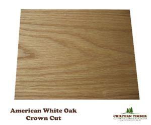 Plywood - Decorative Veneer - Crowncut White Oak 2440 x 1220mm x 18mm