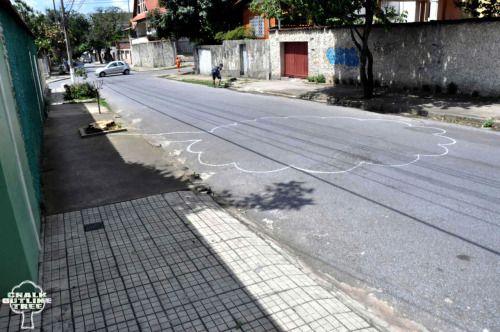 Rua Jose de Alencar, 876 -Nova Suiça - Belo Horizonte - Minas Gerais - Brasil. Veja essa árvore viva