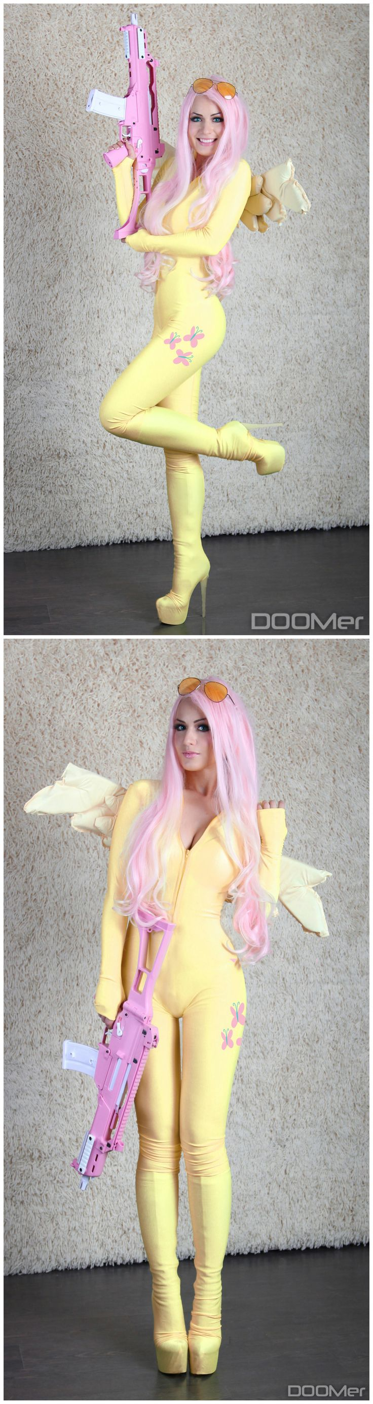My Little Pony - Fluttershy #cosplay by *Hannuki I can't express into words how much I love this!