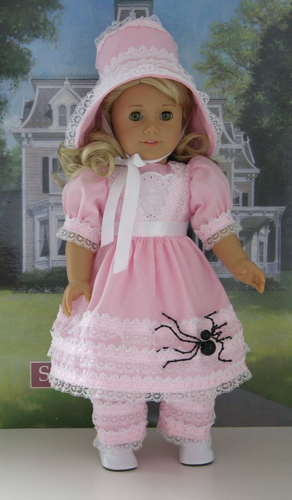 Little Miss Muffet costume for American Girl by cupcakecutiepie