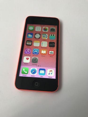 Apple iPhone 5c -16GB -Pink (Factory Unlocked) Smartphone (3138o) Any GSM | eBay