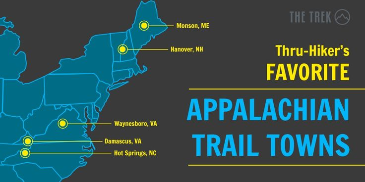 All trail towns are good towns, but these five might just be the best.