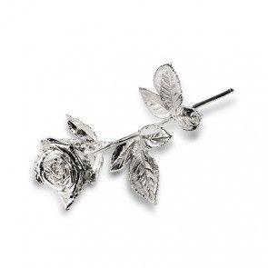 Degussa Gold und Silber - besondere Geschenke; Silberrose premium 30 cm