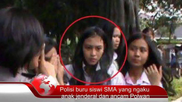 Polresta Medan buru Siswi SMA yang ngaku anak Jenderal dan ancam Polwan Saat Konvoi Di Berhentikan