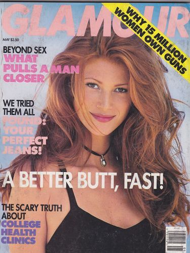 May 1993 cover with Angie Everhart