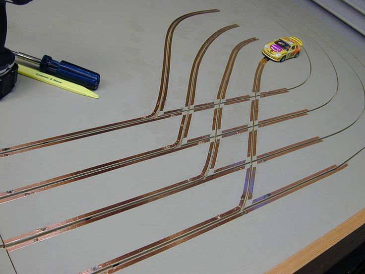 Another 1/32 Slot Car Track by Michael Nyberg