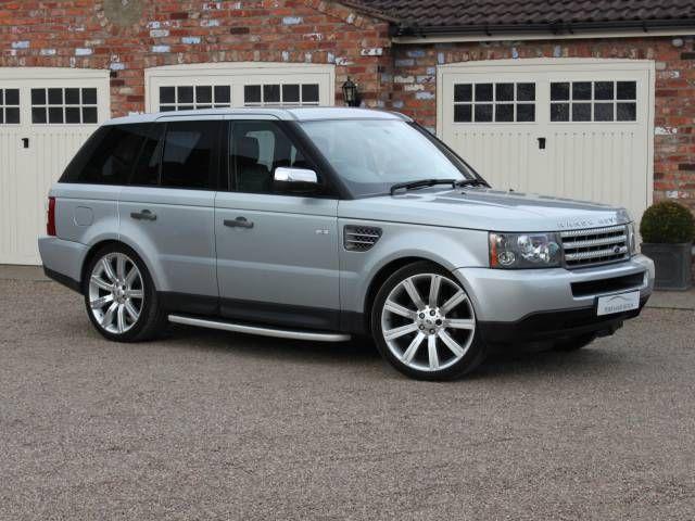 2008 Land Rover Range Rover Sport 2.7 TDV6 SPORT S SIDE STEPS 22 INCH ALLOY WHEELS FULL BLACK LEATHER INTERIOR £20,000