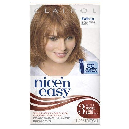 Reddish Blonde Hair Color Permanent