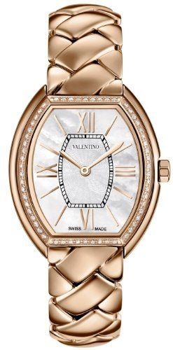 Valentino Liaison Rose Gold Plated Steel & Diamond Womens Dress Watch V48SBQ5191-S080 by Valentino, http://www.amazon.co.uk/dp/B00DL2CW0U/ref=cm_sw_r_pi_dp_w1wpsb0ZBQKVG