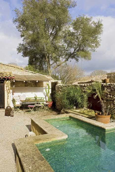 Las 25 mejores ideas sobre peque as casas de la piscina - Disenar un jardin rustico ...