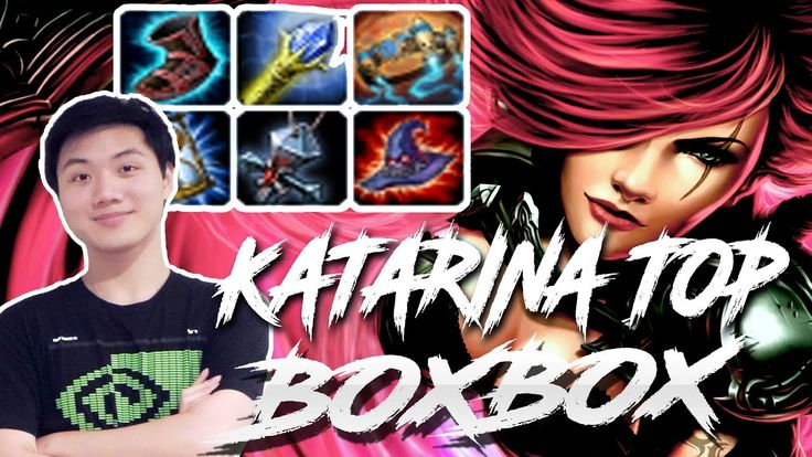 BOXBOX KATARINA TOP VS JARVAN IV FULL STREAM GAMEPLAY 7 5