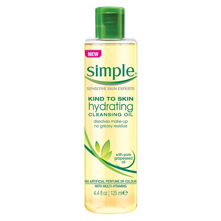 Simple Kind To Skin Hydrating Cleansing Oil 125 mL