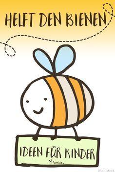 """Basteln, Insektenhotels, Spiele erfinden - tolle Ideen für Kita & Schule zum Thema """"Bienen""""."""