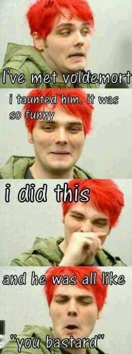 Gerard Way met voldemort