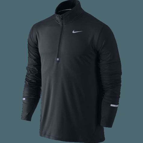 Nike Herre Dri-Fit Element 1/2 Zip Trøje i sort