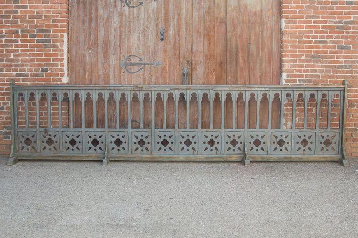 Early 19thCentury French Gothic Church Altar Railing ...
