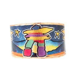 Inukshuk Artist Collection Copper Ring